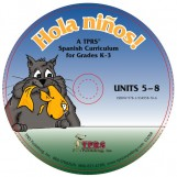 ¡Hola niños! K-3 – Units 5-8 on CD