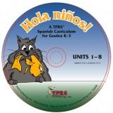 ¡Hola niños! K-3 – Units 1-8 on CD