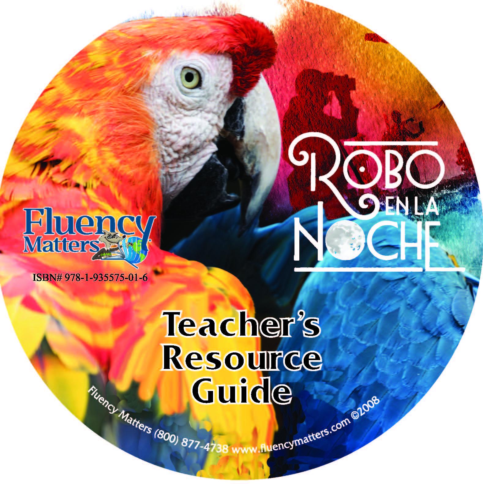 Robo en la noche – Teacher's Guide on CD
