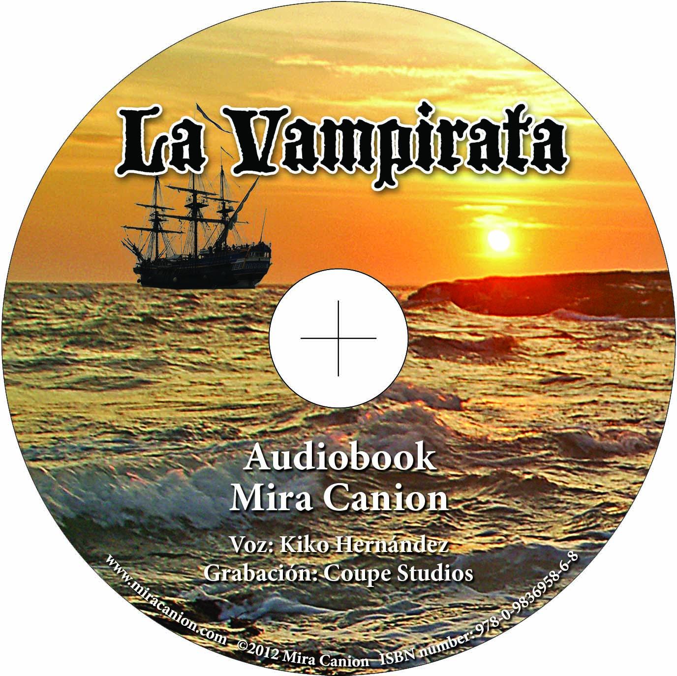 La Vampirata – Audio Book on CD