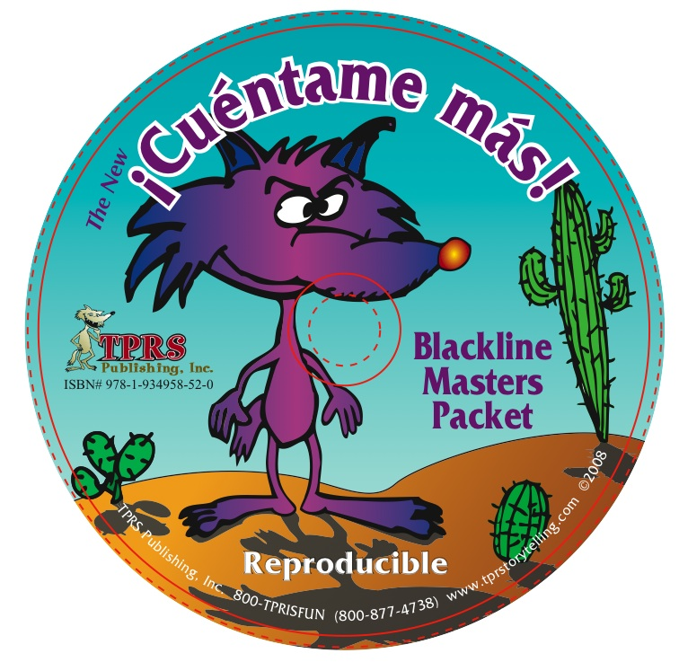 The New ¡Cuéntame más! Reproducible Blackline Masters