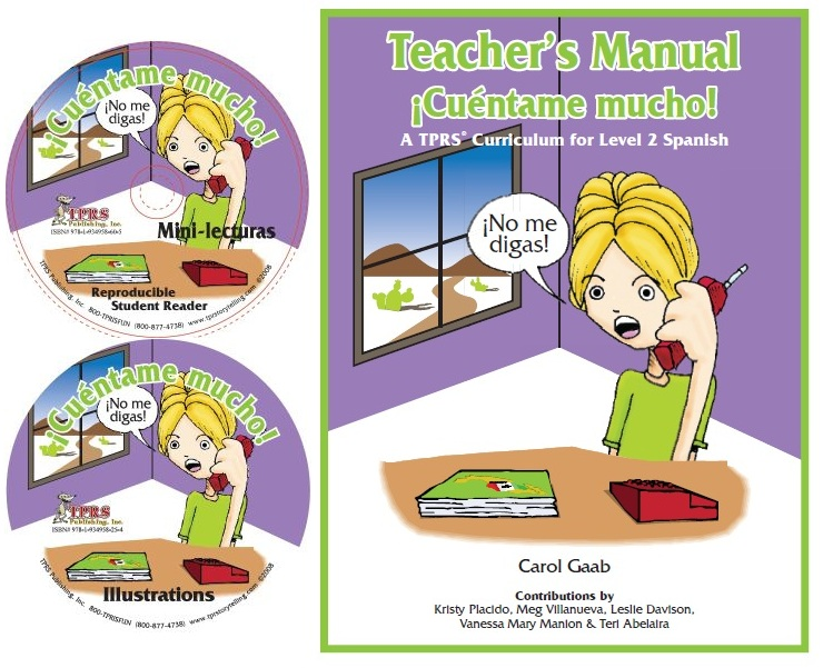 ¡Cuéntame mucho! Teacher Introductory Package