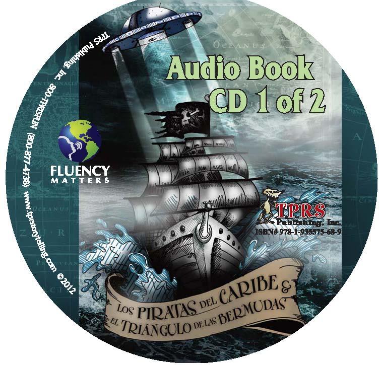Piratas y el Triángulo de las Bermudas – Audio Book on CD