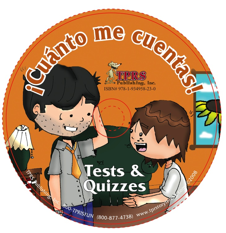 ¡Cuánto me cuentas! Tests with Answer Keys