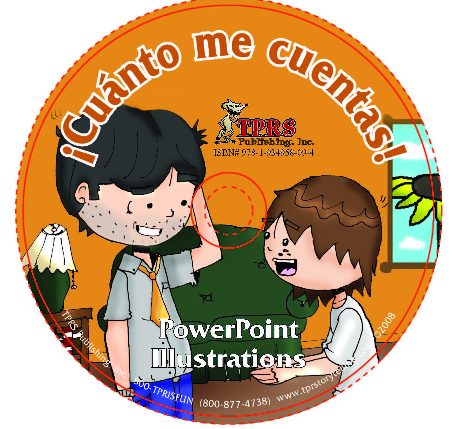 ¡Cuánto me cuentas! Illustrations on CD