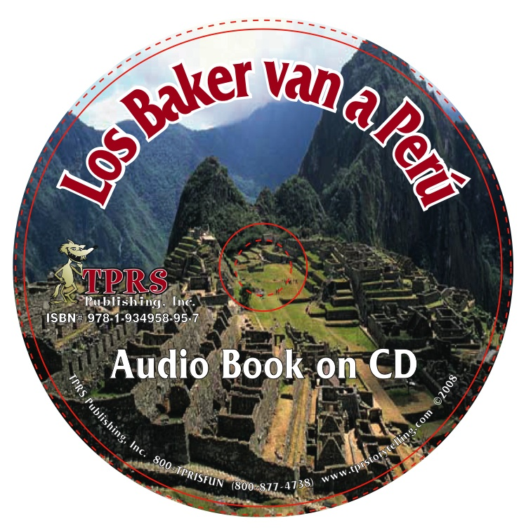 Los Baker van a Peru – Audio Book on CD – Pres. Tense