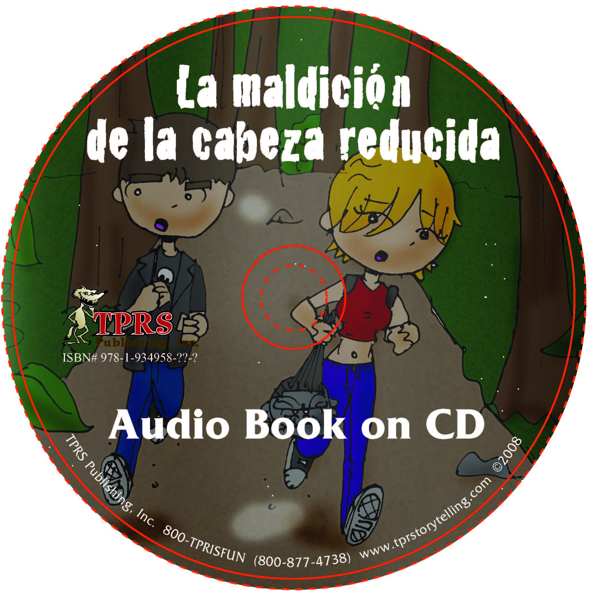 La maldición de la cabeza reducida – Audio Book on CD