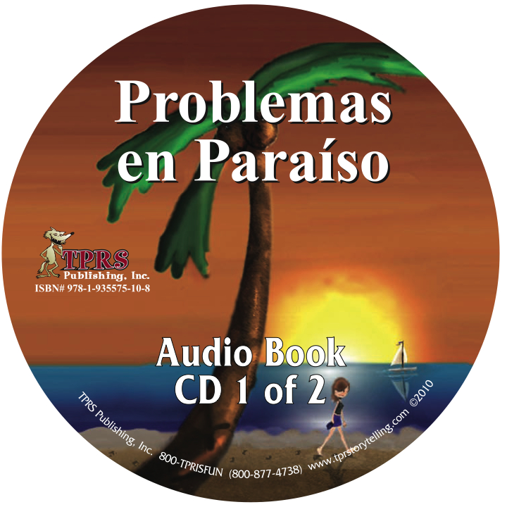 Problemas en Paraíso – Audio Book on CD