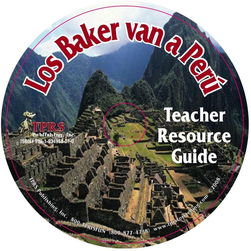 Los Baker van a Peru – Teacher' s Guide on CD