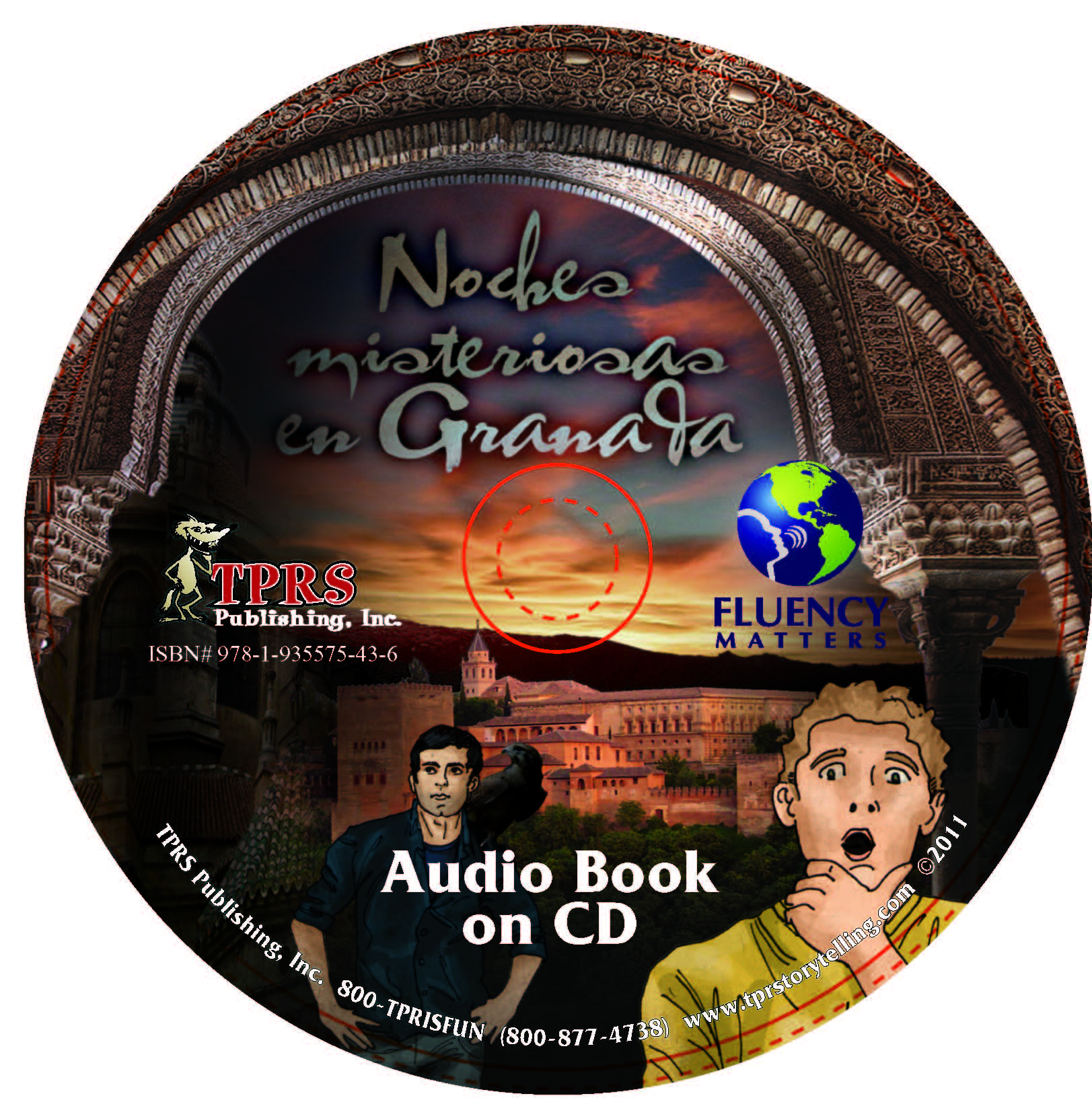 Noches misteriosas en Granada – Audio Book on CD