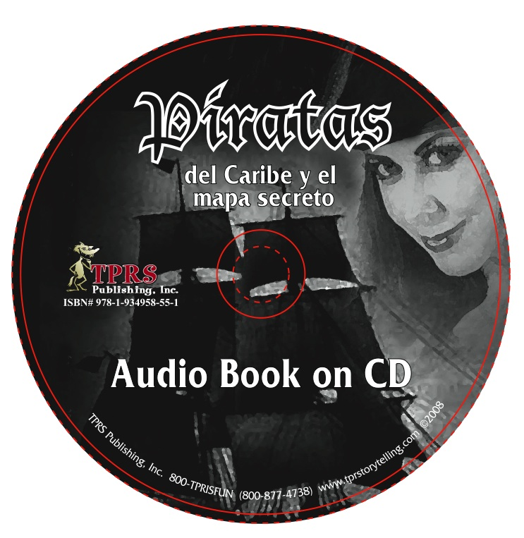 Piratas del Caribe y el mapa secreto – Audio Book on CD