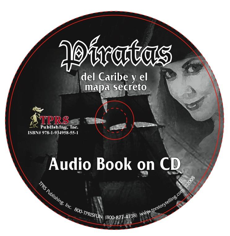 Piratas del Caribe y el mapa secreto – Audio Book on CD
