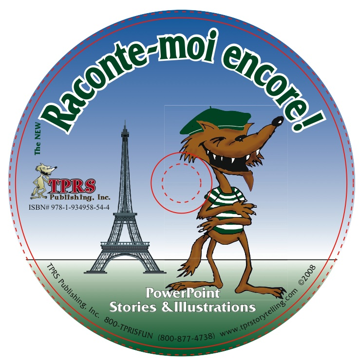 The NEW Raconte-moi encore! Illustrations on CD