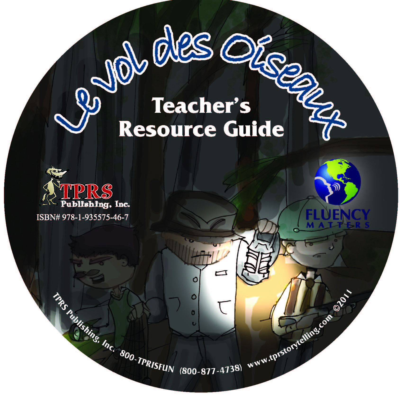 Vol de Oiseaux – Teacher's Guide on CD