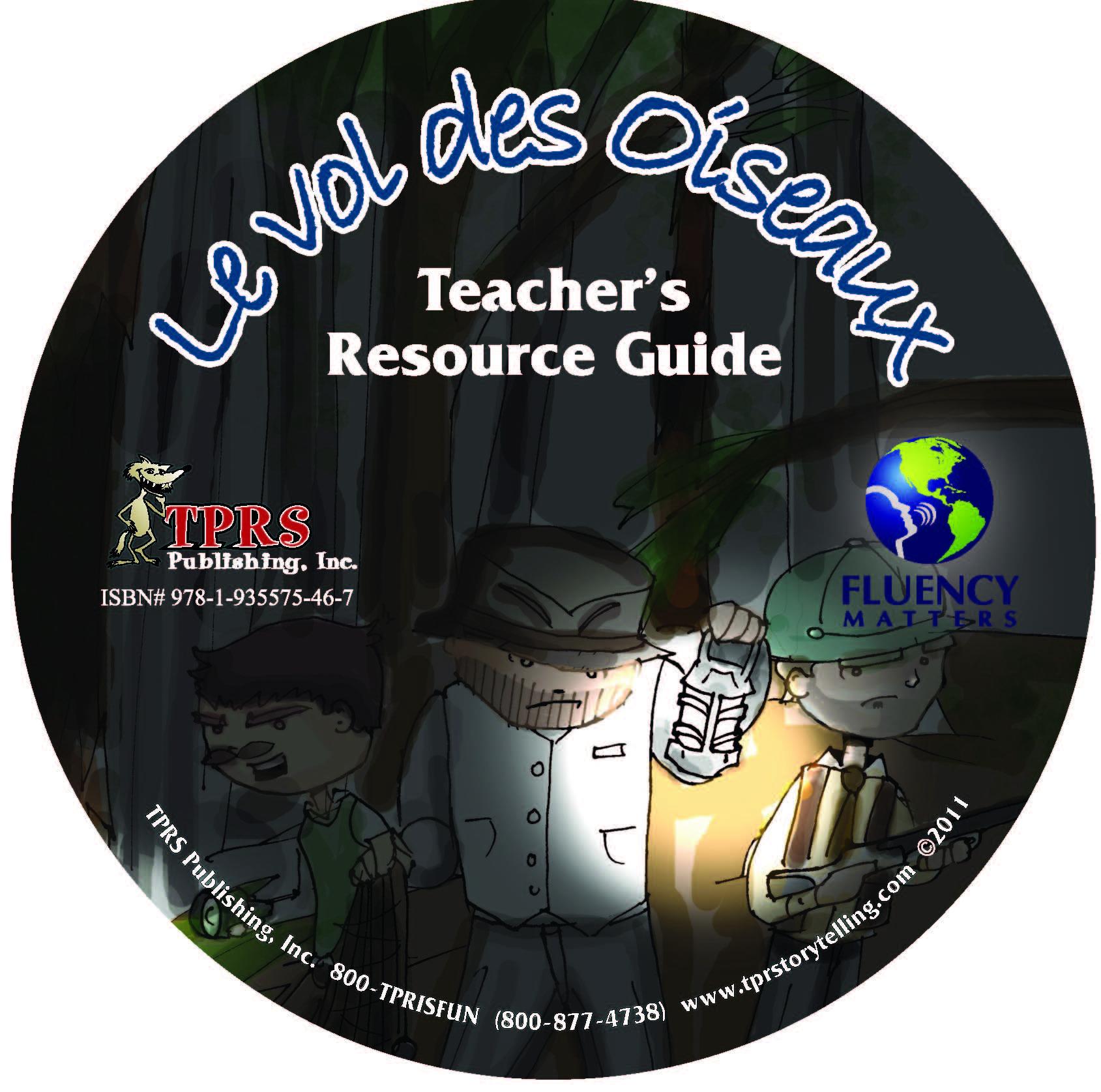 Vol de Oiseaux – Teacher's Guide on CD