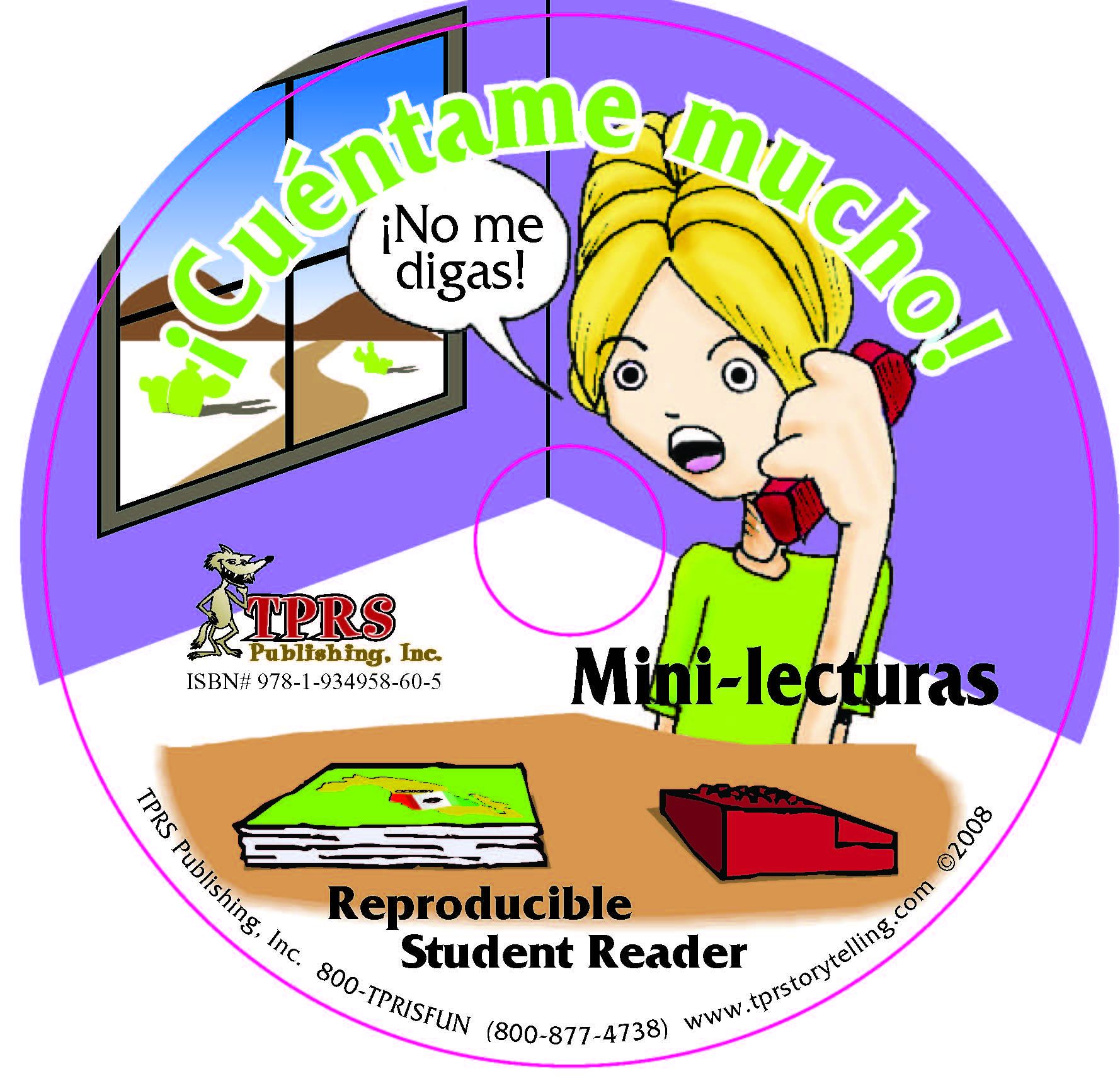 ¡Cuéntame mucho! Reproducible Student Reader on CD