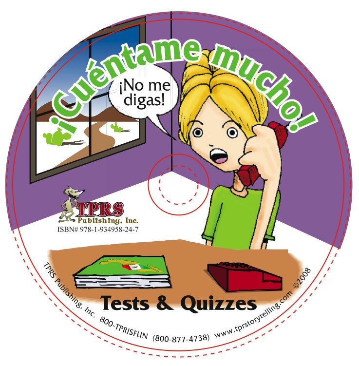 ¡Cuéntame mucho! Tests with Answer Keys