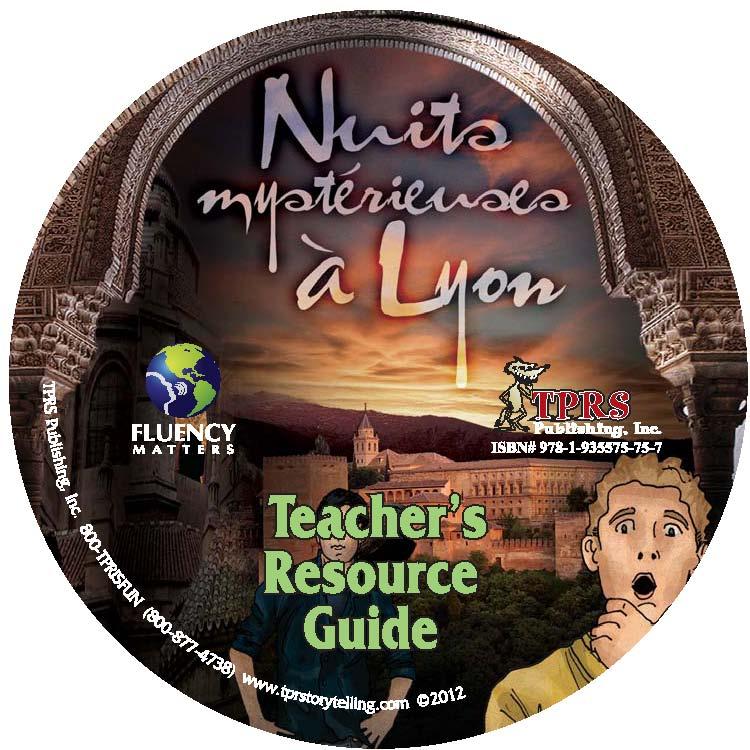 Nuits mystérieuses à Lyon – Teacher's Guide on CD