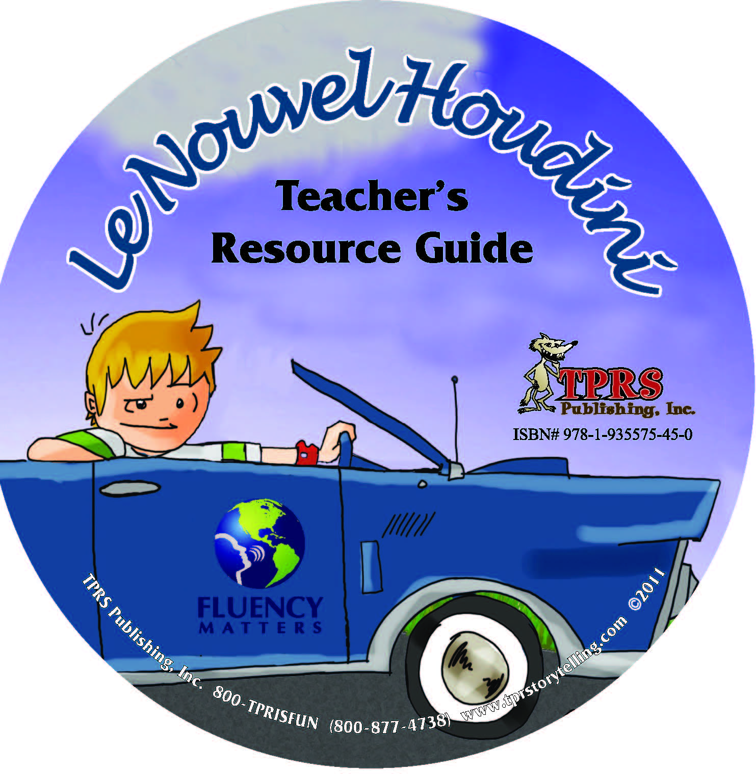 Le Nouvel Houdini – Teacher's Guide On CD