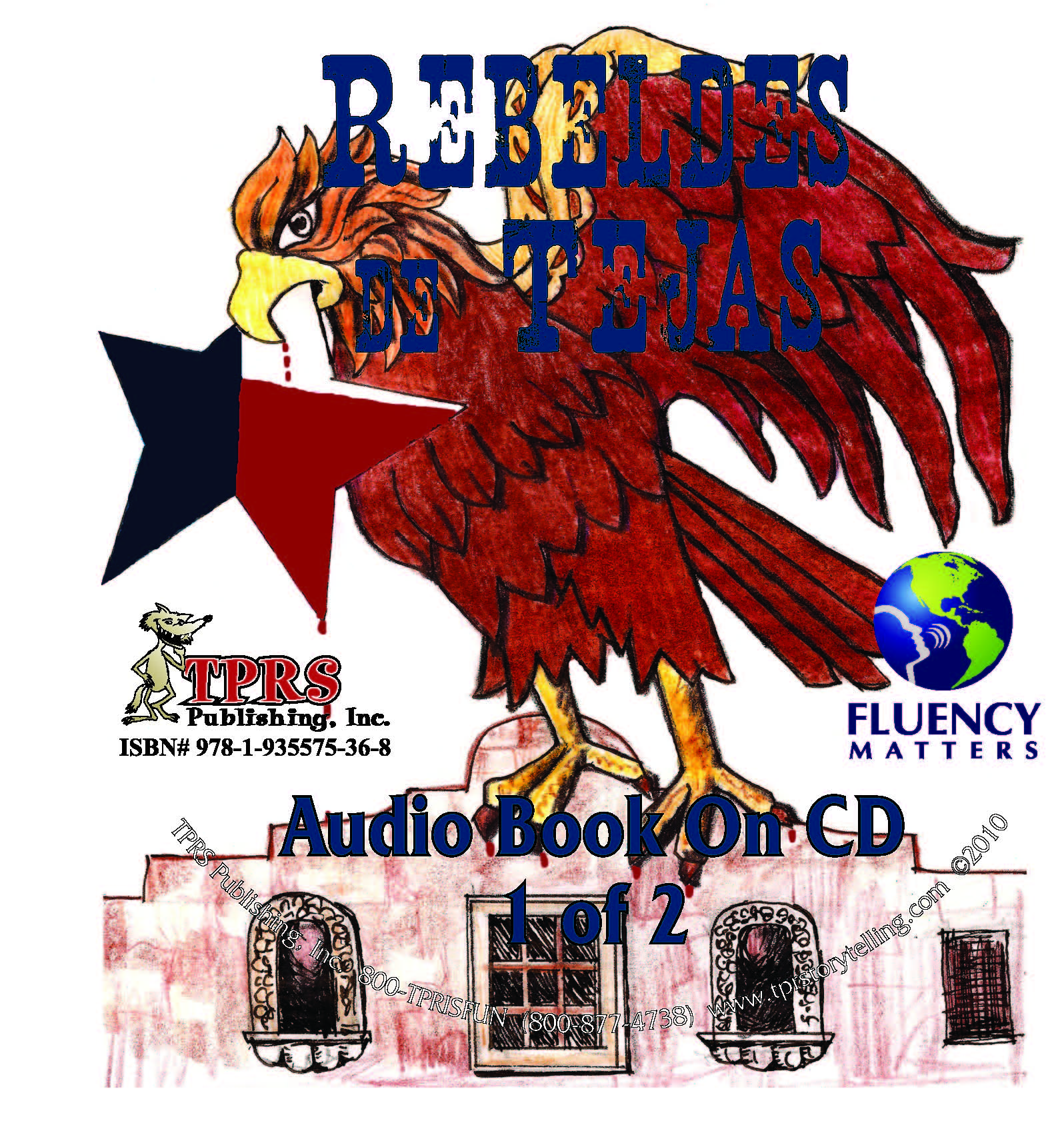 Rebeldes de Tejas – Audio Book on CD