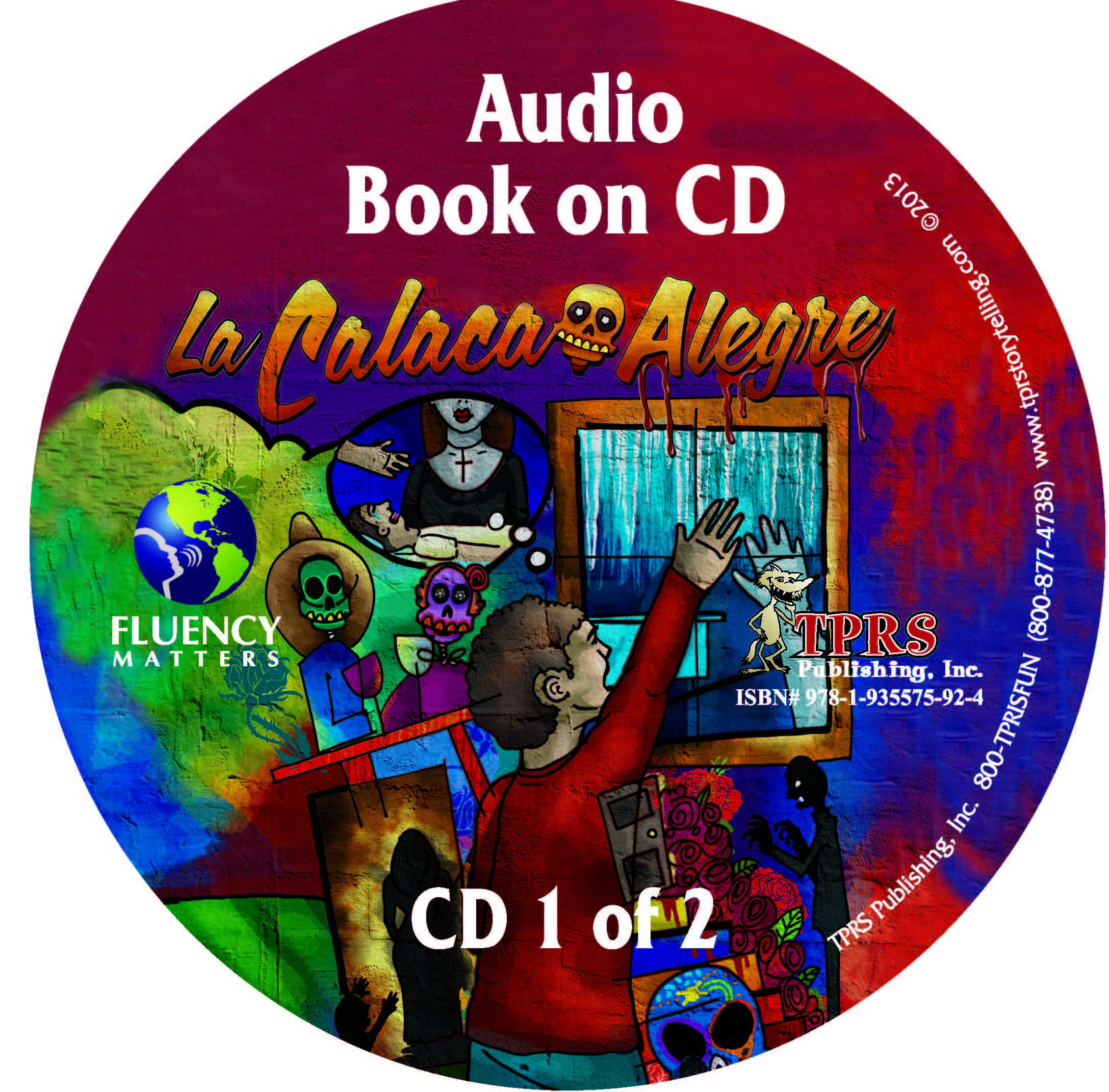 La Calaca Alegre – Audio Book on CD
