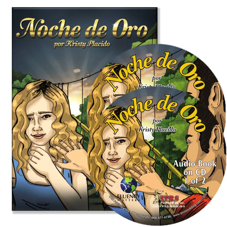 Noche de Oro – Novel/Audio CD Package