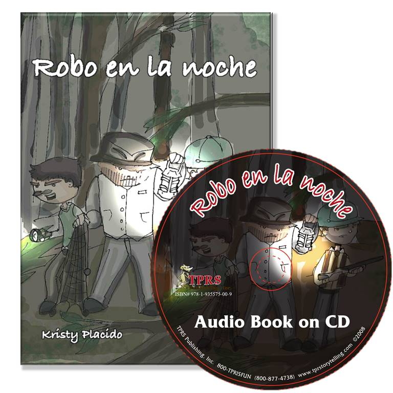 Robo en la noche – Novel/Audio CD Package – Present Tense